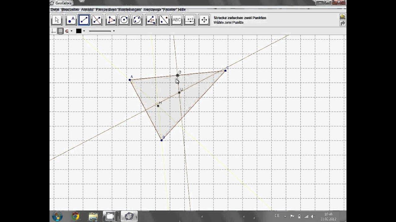 Eulersche Gerade - Mathe verstehen - YouTube