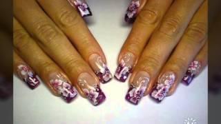 Гелевые ногти ' рисунок'