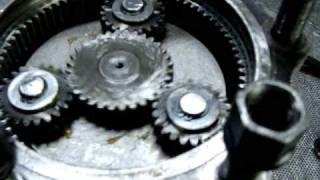 réducteur epicycloidale sur moteur hydraulique