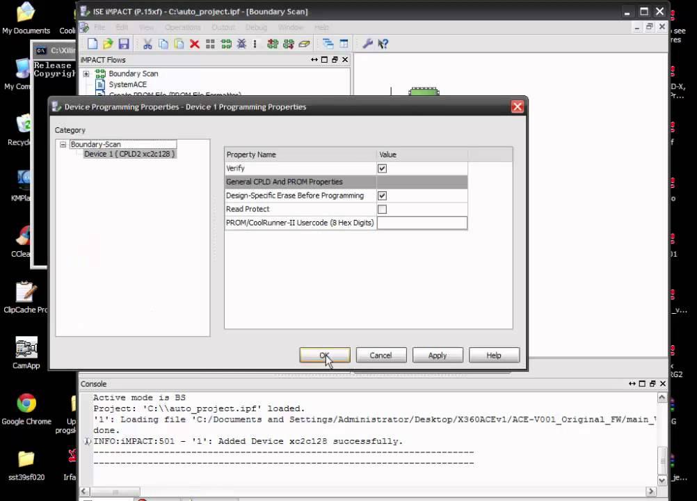 Programare LPT x360 ace v1
