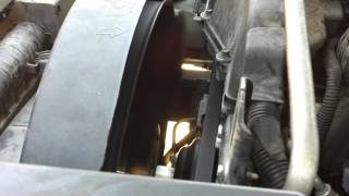2005 trailblazer overheating issues fan operation