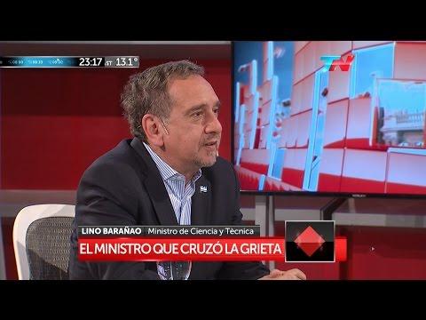 """L.Barañao (Ministro de Ciencia y Tecnología) en """"A dos voces"""" de M.Bonelli y E.Alfano - 25/05/16"""