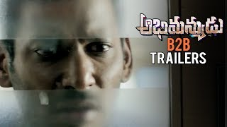Abhimanyudu Back 2 Back Release Trailers | Vishal | Samantha | TFPC