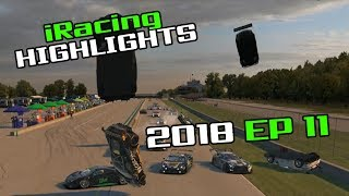 iRacing Twitch Highlights, 2018 Ep. 11 (Fails, Wins and Funny Moments)