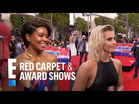 "Gabrielle Union & Julianne Hough Ready for ""America's Got Talent"" | E! Red Carpet & Award Shows"
