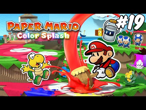 Paper Mario Color Splash - Wii U - parte 19