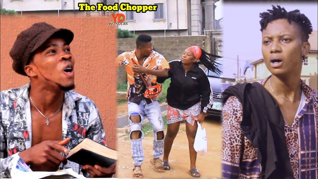 Download THE FOOD CHOPPER 😂 || Real house of comedy || (Ydwonders comedy)