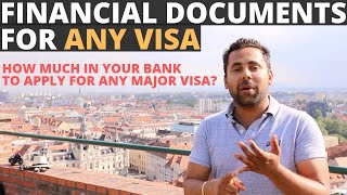 Financial Documents Needed To Apply For a Tourist Visa for E...