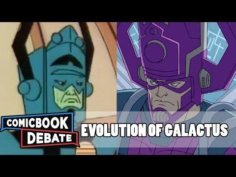 Evolution of Galactus in Cartoons in 5 Minutes (2018)