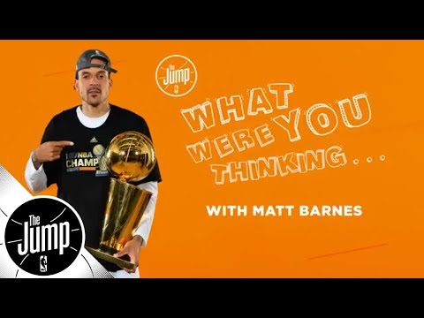 Matt Barnes on that time Kobe Bryant even didn't flinch | The Jump | ESPN