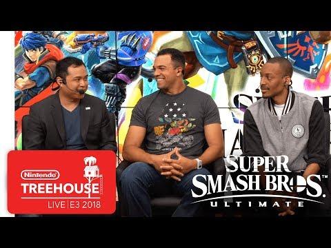 Super Smash Bros. Ultimate Gameplay Pt. 7 - Nintendo Treehouse: Live | E3 2018 thumbnail