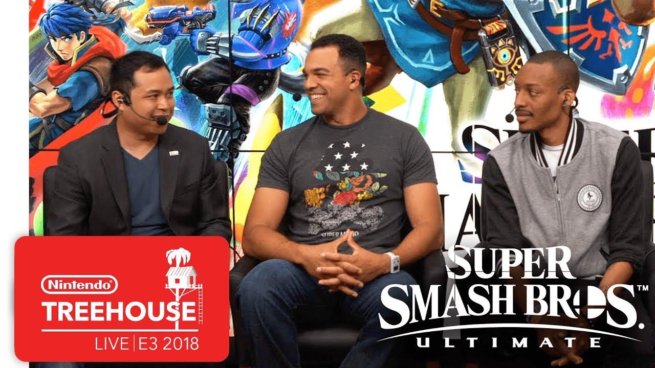 Super Smash Bros. Ultimate Gameplay Pt. 7 - Nintendo Treehouse: Live | E3 2018
