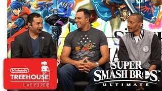 Super Smash Bros. Ultimate Gameplay Pt. 7 - Nintendo Treehouse: Live | E3 2018