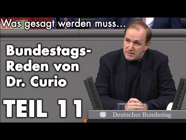 Unbequeme Wahrheiten im Bundestag - Teil 11