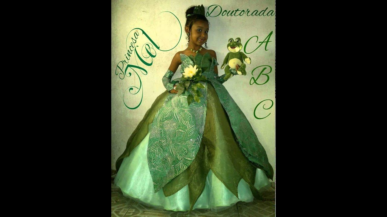 tiana a princesa e o sapo - YouTube