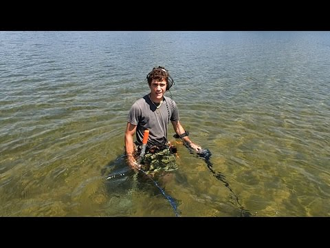 Thumbnail: Metal Detecting the Lake Sandbar!