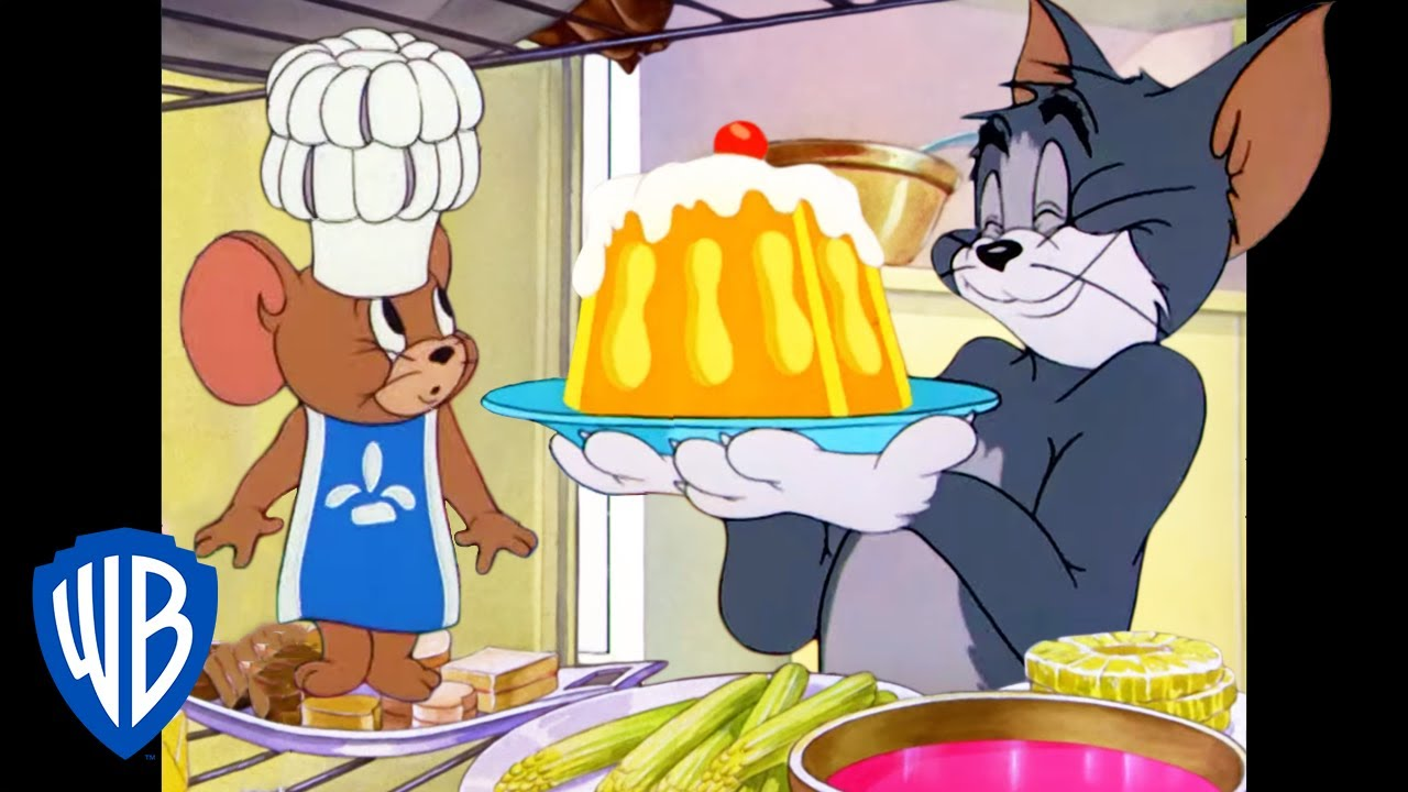 Tom & Jerry   Are You Hungry? 🧀🍗🎂   Classic Cartoon Compilation   WB Kids