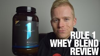 Rule 1 R1 Protein Blend Supplement Review(Rule 1 R1 Protein Powder Blend supplement review with Managing Director Pat Dickson. Shop for Rule 1 R1 Protein here: ..., 2016-07-06T03:43:43.000Z)