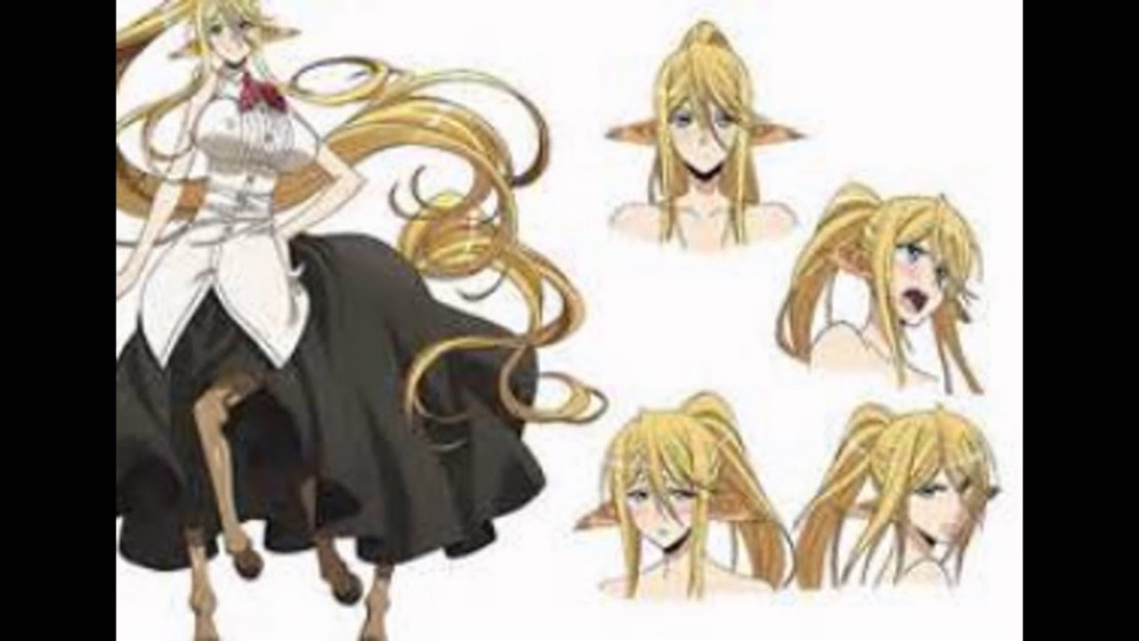 Monster musume characters list