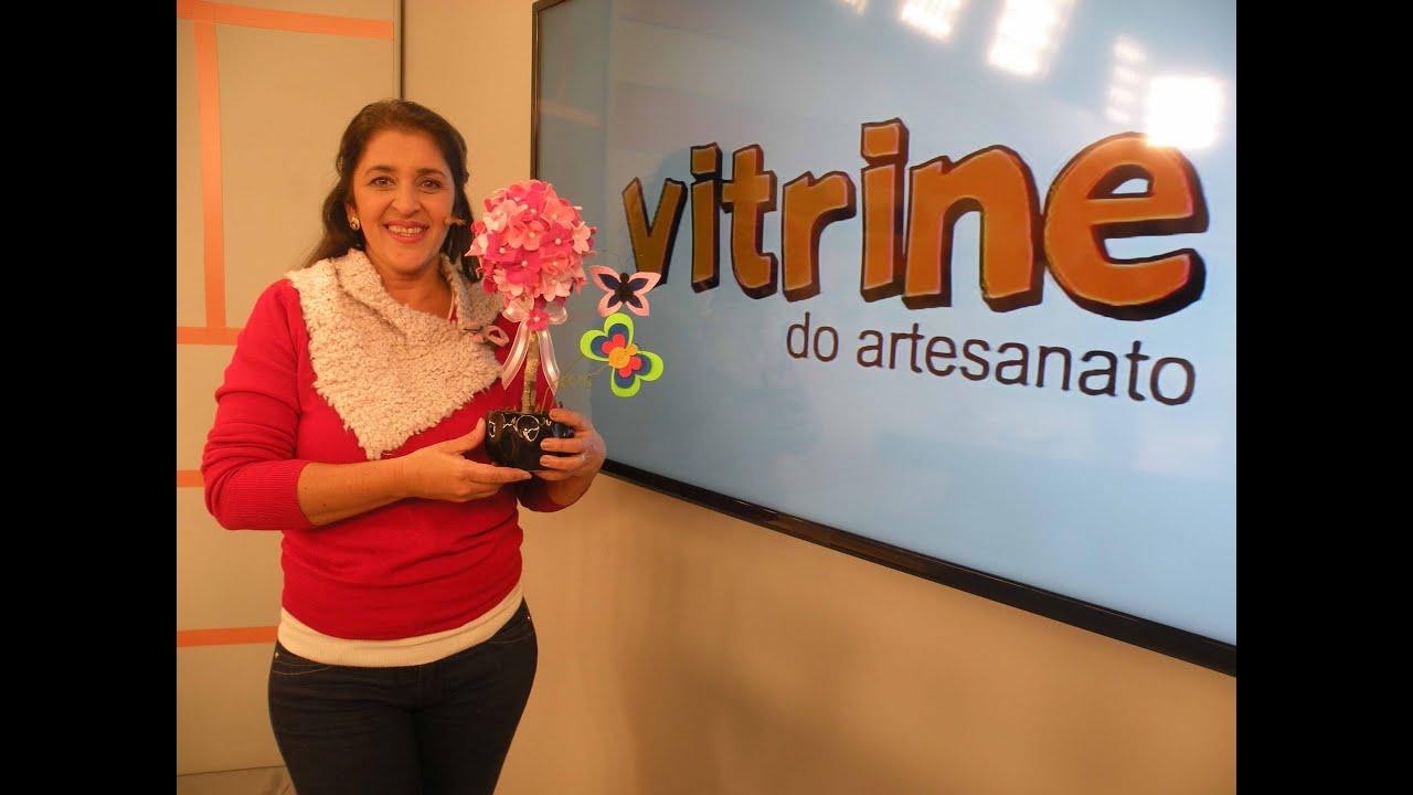 Armario Roupeiro De Aço ~ Topiaria Decorada com Flores com Isamara Custódio Vitrine do Artesanato na TV YouTube