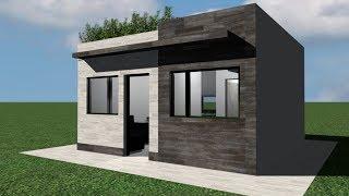 Casa 5 x 5 m / House 5 x 5 / Rumah 5 x 5 m