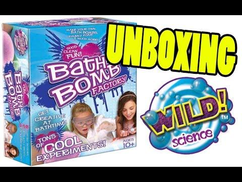 wild science bath bomb factory instructions