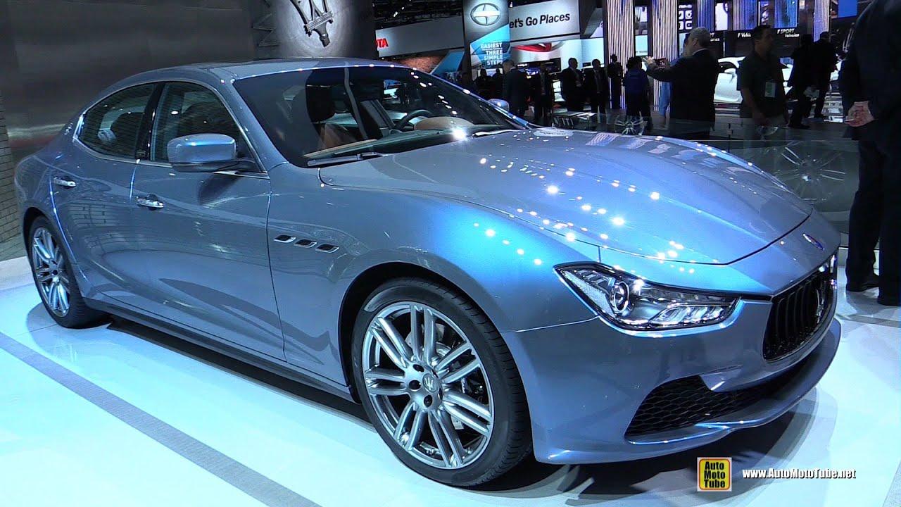 2015 Maserati Ghibli Q4 Ermenegildo Zegna Edition - Ext,Interior ...