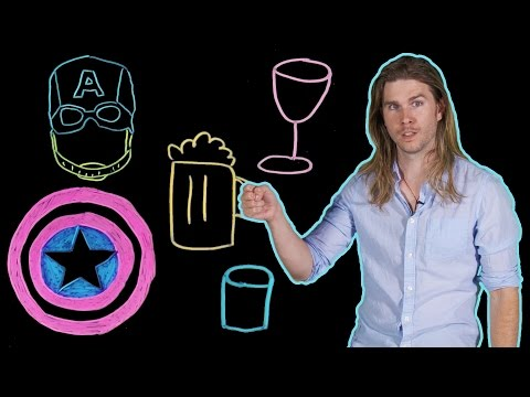 How Much Can Captain America Drink? (Because Science w/ Kyle Hill)