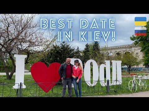 Date with a Ukrainian Girl | KIEV, UKRAINE | Where to go in Kyiv. 🇺🇦