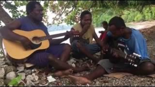 Solomon islands String Band from Santa Isabel Province.