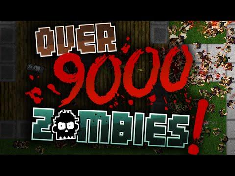Over 9000 Zombies! Обзор  + Геймплей. Игра на выживание, в которой можно залипнуть на долго.