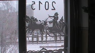 видео Кружевные окна