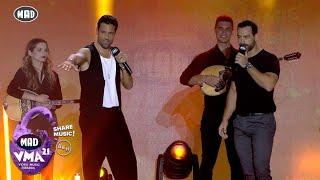 Σάκης Τανιμανίδης & Κωνσταντίνος Αργυρός μαζί στα Mad Video Music Awards 2021 από τη ΔΕΗ