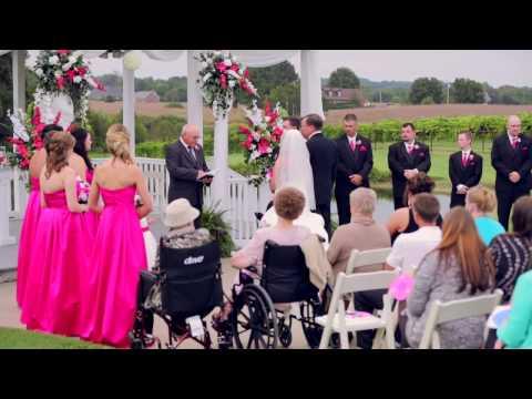 Bride sings (look at me ) Carrie Underwood cover  Kristy Lynn & Justin Wedding