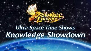 DRAGON BALL LEGENDS Knowledge Showdown_Voix japonaises avec sous-titres français