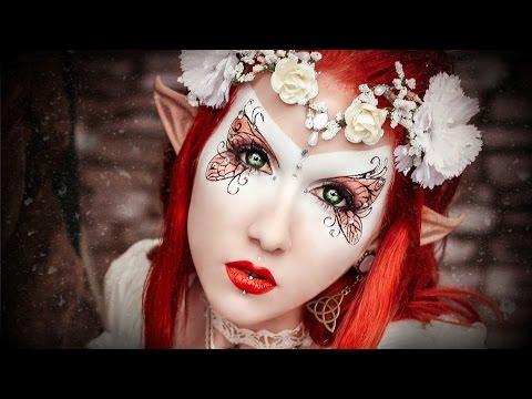 MakeUp & Behind the Scenes: Elvish Brides Shooting with K.D.B. Photography & Sarah Sorceress