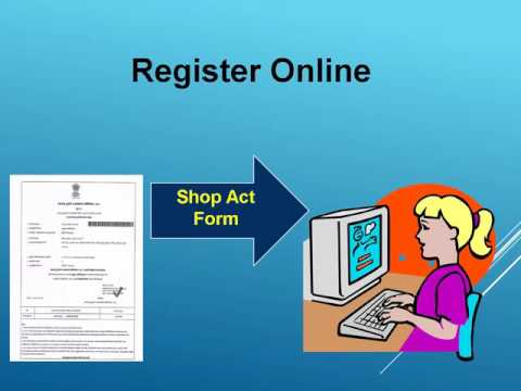 Online Shop Act Licence Registration Service In Pune
