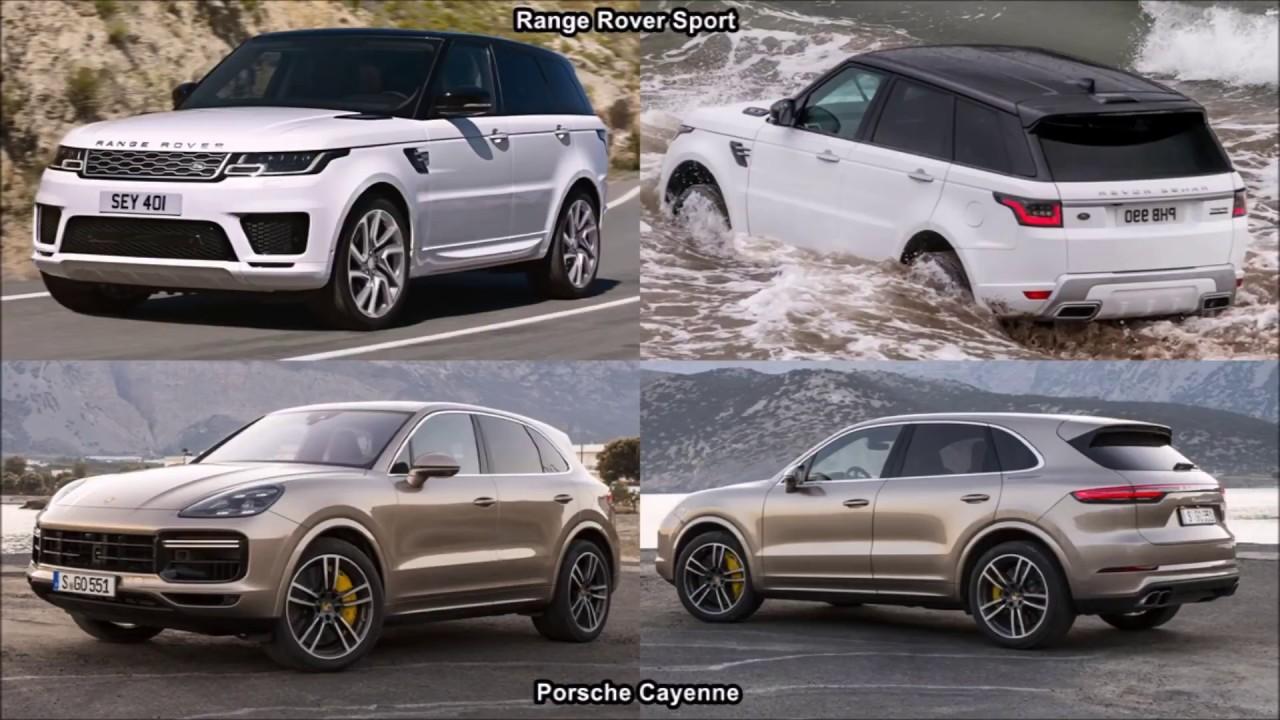 2018 Porsche Cayenne Vs Range Rover Sport