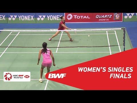 WS | PUSARLA V. Sindhu (IND) [1] vs Beiwen ZHANG (USA) [5] | BWF 2018