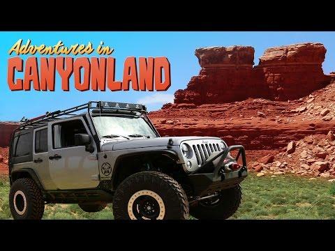 ADVENTURE IN CANYONLANDS (Jeep Overlanding)