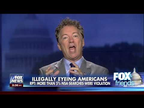 Rand Paul on Obama Illegally Spying on Americans | NSA Wiretapping