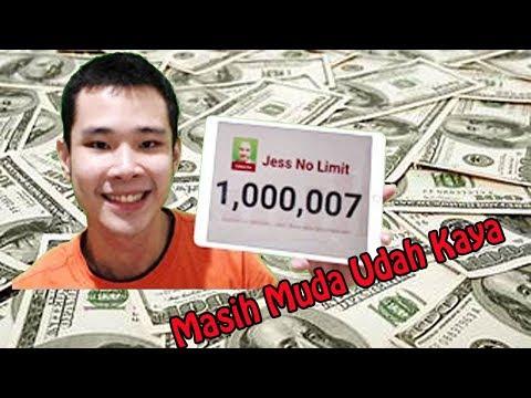1 .000.000 Subcriber Inilah Pendapatan Jess No Limit Bener Ga Ya... ?