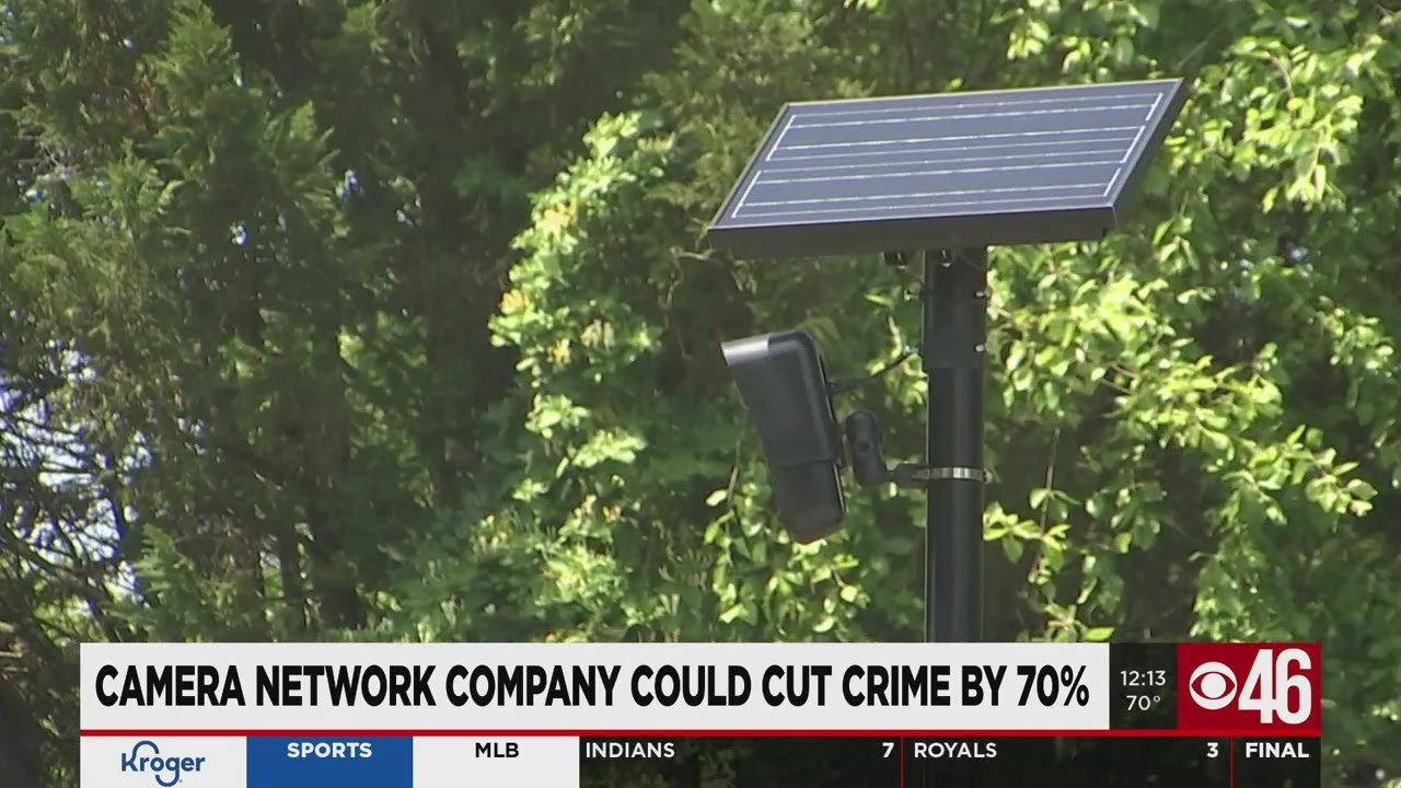 Camera network company could cut crime by 70%