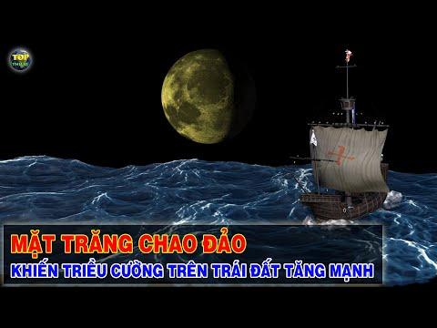 Mặt trăng chao đảo khiến triều cường và lũ lụt ở Trái đất tăng mạnh | Khoa học vũ trụ - Top thú vị |