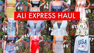 HUGE ALIEXPRESS CLOTHING TRY-ON HAUL 2018 ♡ Dresses, Two Piece Sets and Tops!
