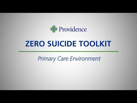 Zero Suicide Toolkit: Primary Care Environment