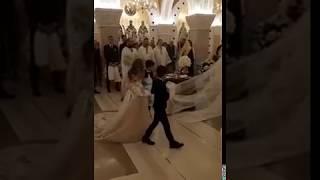 Crkveno venčanje Bogdane i Veljka Ražnatovića u Hramu Svetog Save
