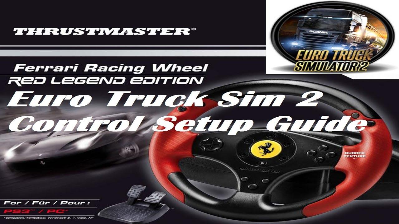 Thrustmaster Frw Red Legend Edition Ets2 Ats Setup Youtube
