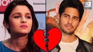 Sidharth Malhotra Breaks Up With Alia Bhatt? | LehrenTV