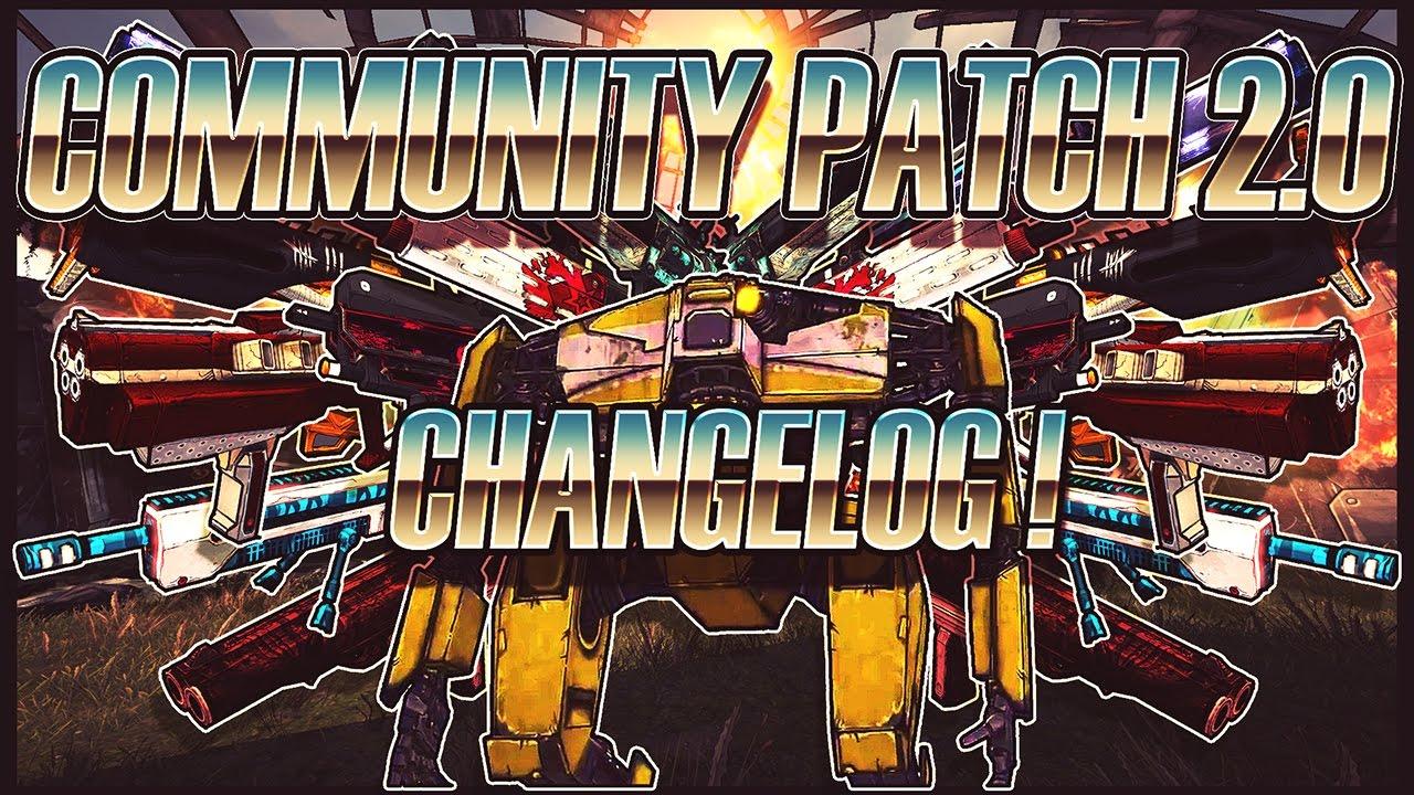 Borderlands 2's Unofficial Community Patch v2.0's patch ... Borderlands 2 Community Patch